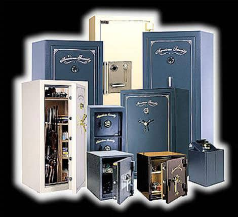 image of different size Amsec safes